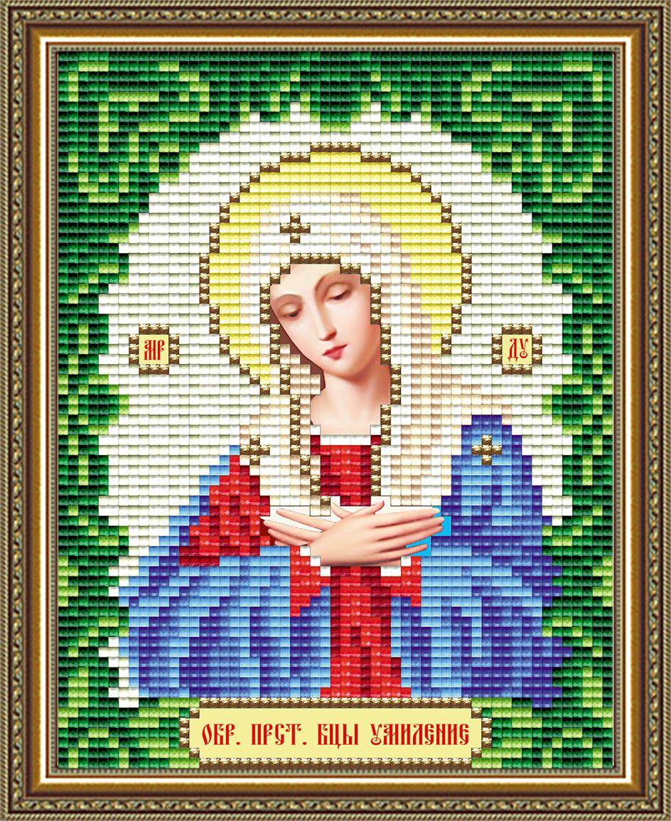 Набор алмазной живописи 17х14см - икона Богородица Умиление
