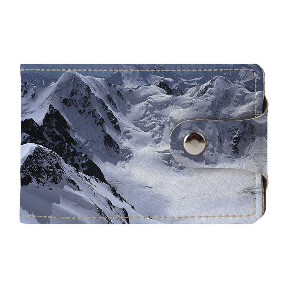 Візитниця v.2.0. Fisher Gifts 650 Зимовий гірський пейзаж (еко-шкіра)
