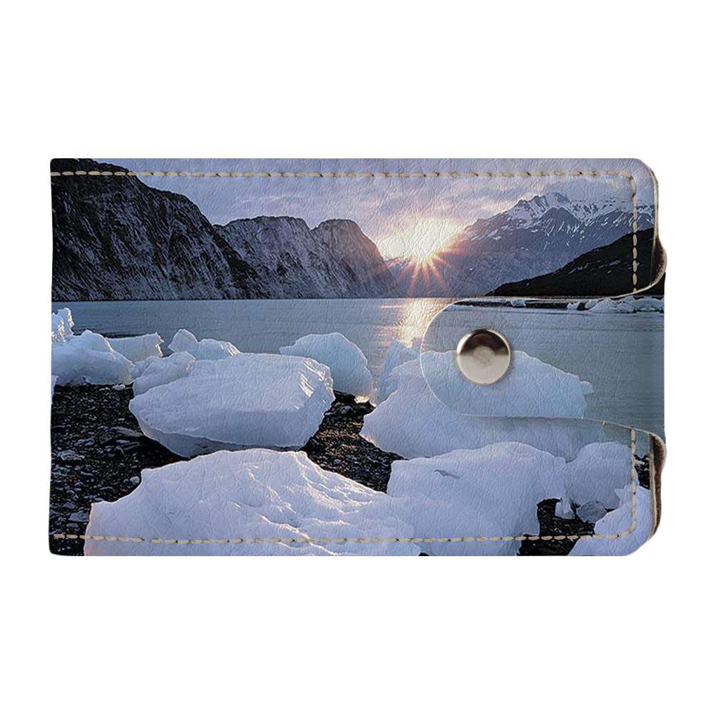 Визитница v.2.0. Fisher Gifts 685 Где-то в горах (эко-кожа)