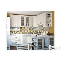 Кухня угловая «СОФИЯ»   фасад Клаccический   цвет: шпон белый Sokme