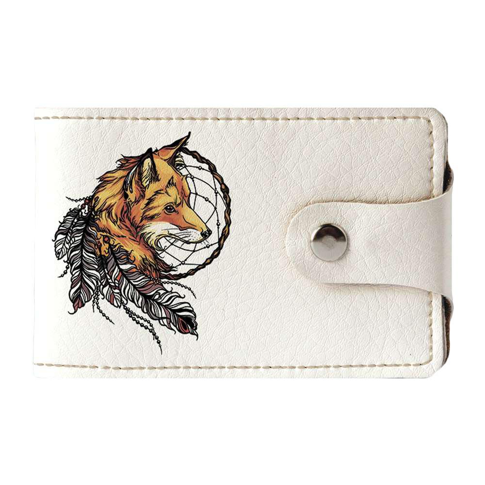 Візитниця v.2.0. Fisher Gifts 711 Індійська лисичка (еко-шкіра)