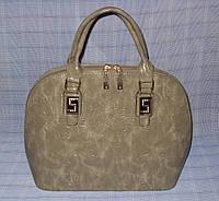 Женская сумка модель 7-8335-2 оливковая, фото 1