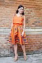 Костюм женский, вышитая юбка с поясом и блузка безрукавка в этно бохо стиле, вышитая одежда лето, фото 4