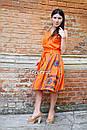 Костюм женский, вышитая юбка с поясом и блузка безрукавка в этно бохо стиле, вышитая одежда лето, фото 3