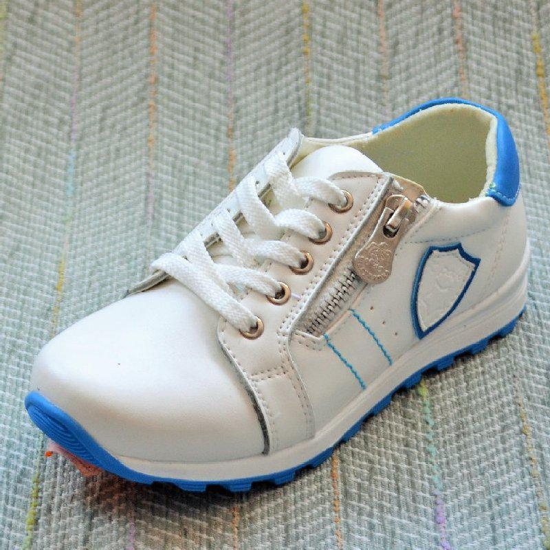 Кожаные кроссовки мальчик, Шалунишка размер 28 29