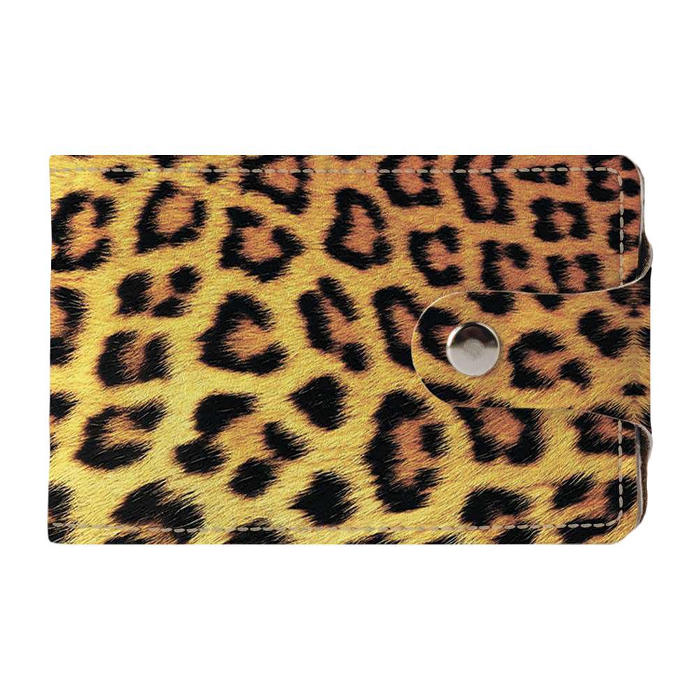 Візитниця v.2.0. Fisher Gifts 758 Леопардовий фон (еко-шкіра)