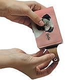 Визитница v.2.0. Fisher Gifts 761 Грустный мопс (эко-кожа), фото 5