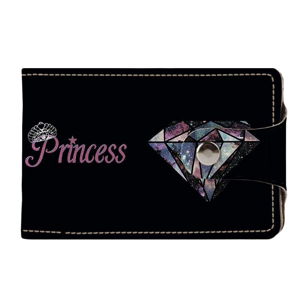 Визитница, картхолдер 2.0 Fisher Gifts 775 Принцесса и бриллиант (эко-кожа)