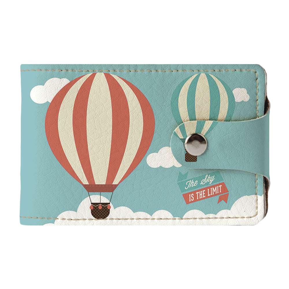 Визитница v.2.0. Fisher Gifts 781 Воздушные шары (эко-кожа)