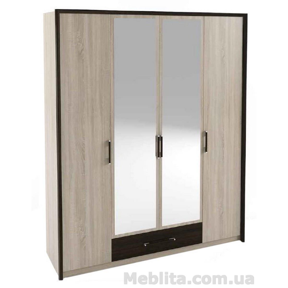 Шкаф 4-х дверный «Скарлет» Sokme