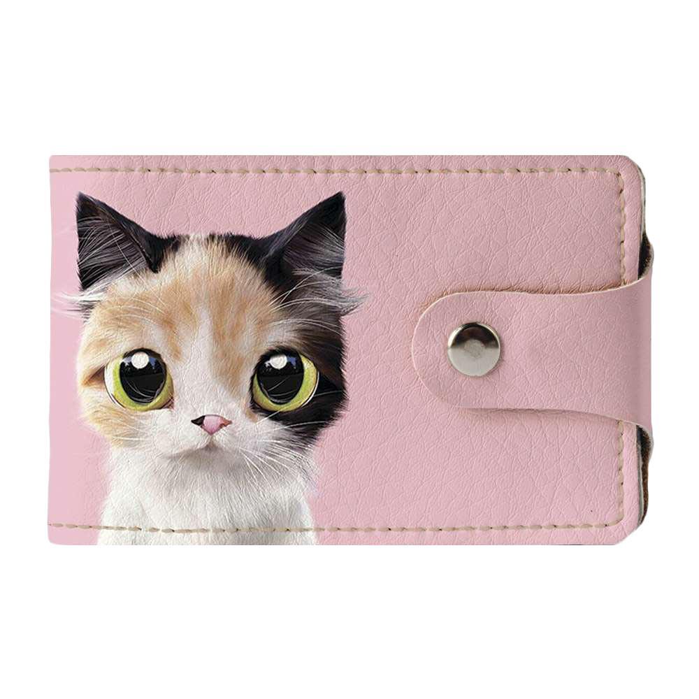 Визитница Fisher Gifts v.2.0. 787 Трехцветная кошка (эко-кожа)