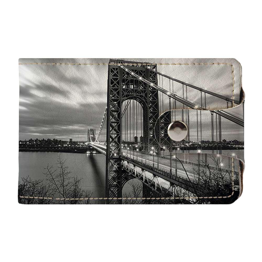 Визитница Fisher Gifts v.2.0. 796 Мост Джорджа Вашингтона (эко-кожа)