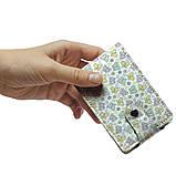 Визитница v.2.0. Fisher Gifts 823 Красивые бабочки фон (эко-кожа), фото 4