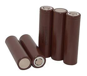 Аккумулятор для электронных сигарет 18650 LG HG2 3000mAh 30А