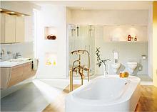 Підлогові стійки в ванну кімнату