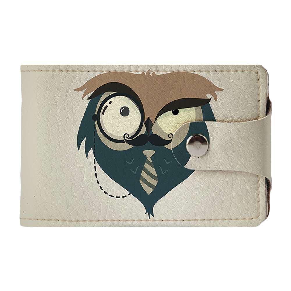 Визитница Fisher Gifts v.2.0. 865 Подозрительная сова (эко-кожа)