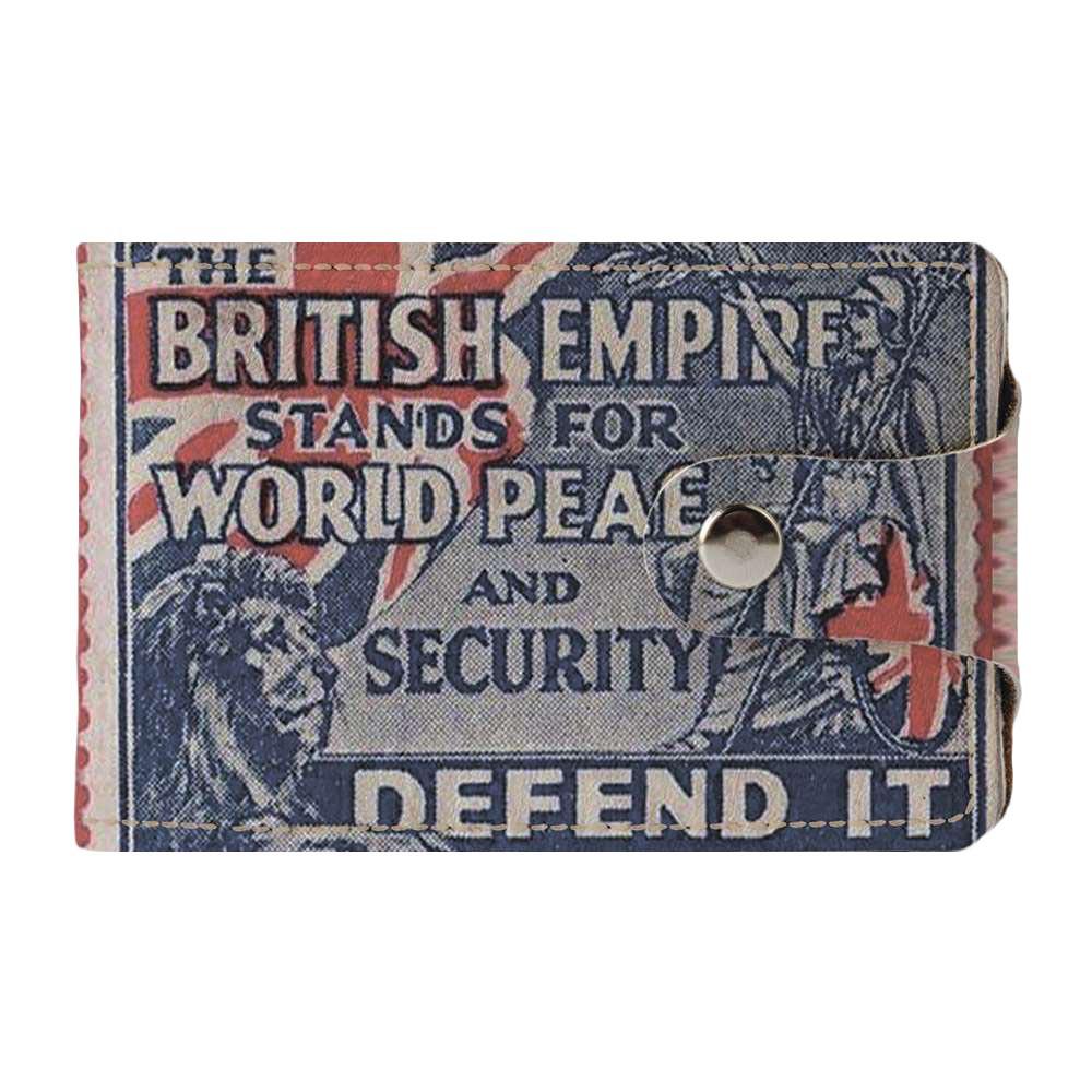Визитница Fisher Gifts v.2.0. 898 British empire (эко-кожа)