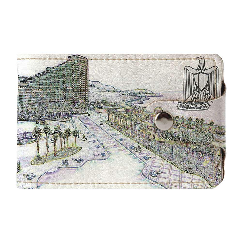 Візитниця v.2.0. Fisher Gifts 912 Пам'ятки Єгипту (еко-шкіра)
