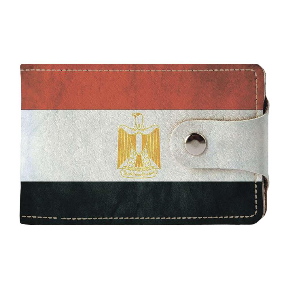 Визитница, картхолдер 2.0 Fisher Gifts 919 Флаг Египта (эко-кожа)