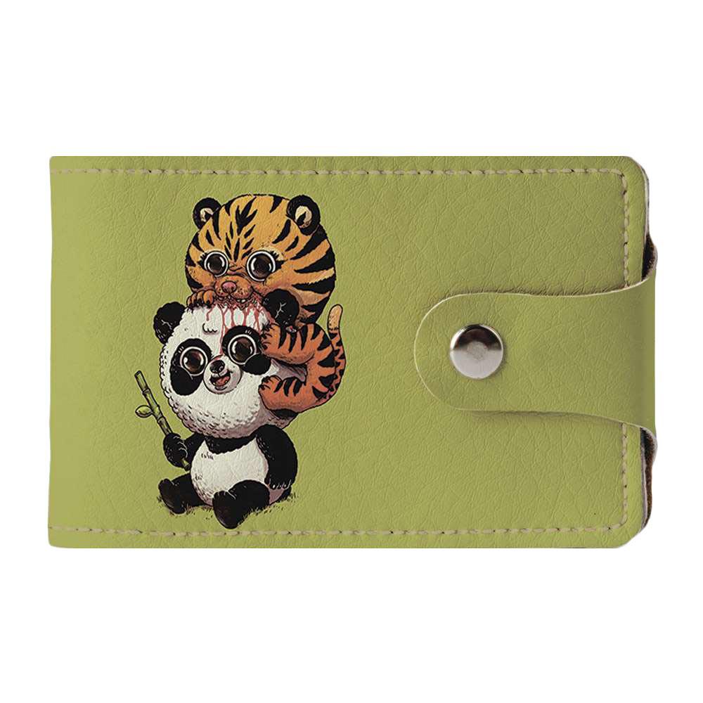 Візитниця v.2.0. Fisher Gifts 945 Тигр і панда (еко-шкіра)