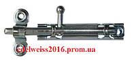 Шпингалет никель 80 мм.