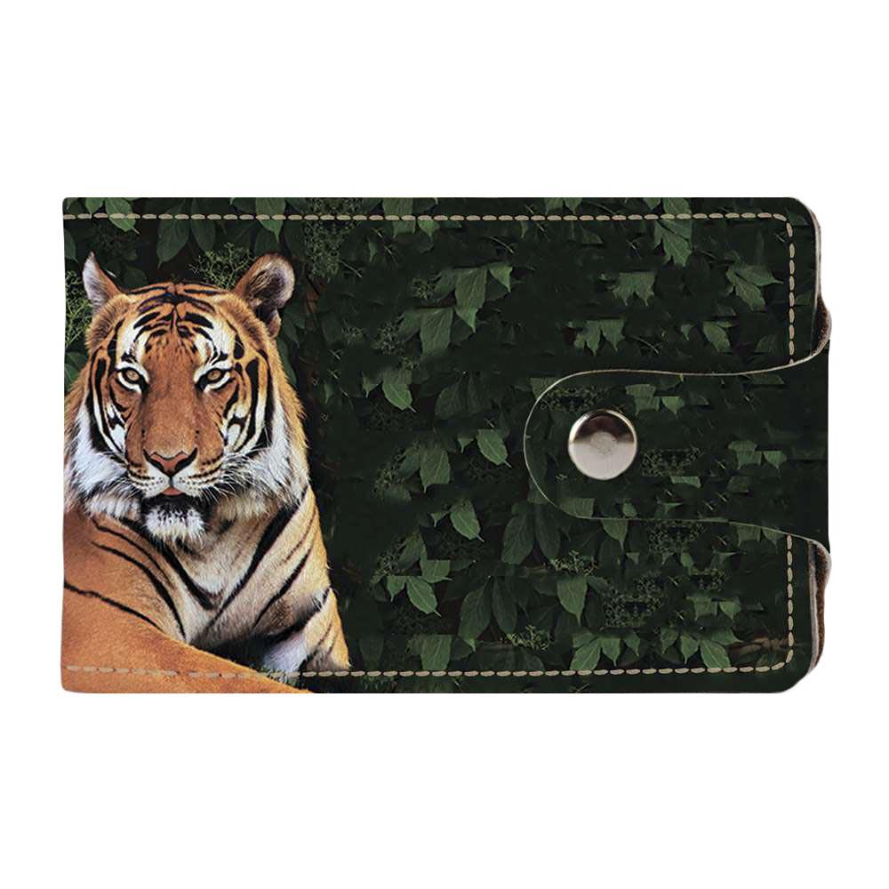 Визитница Fisher Gifts v.2.0. 973 Тигр на отдыхе (эко-кожа)