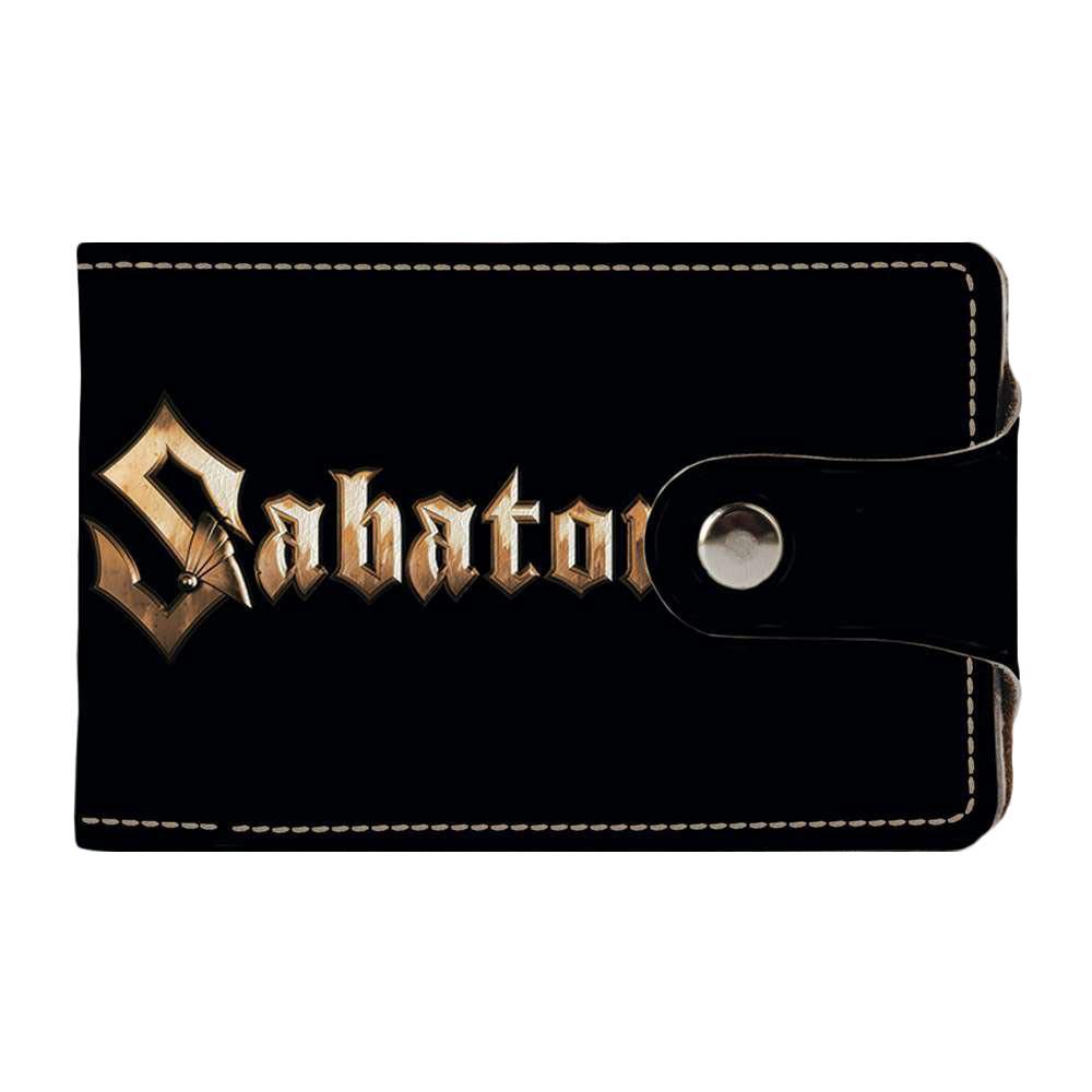 Визитница Fisher Gifts v.2.0. 989 Sabaton (эко-кожа)