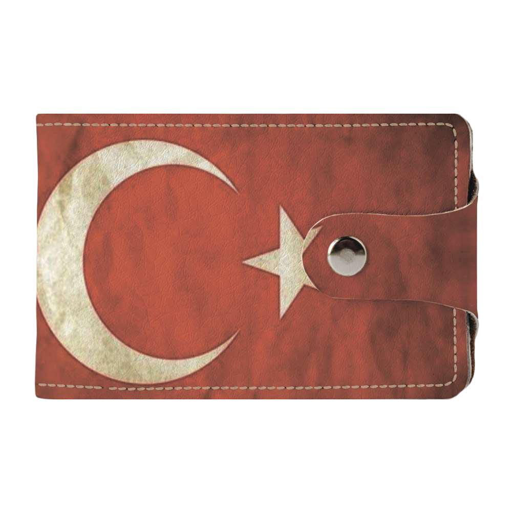 Визитница Fisher Gifts v.2.0. 996 Флаг Турции old 2 (эко-кожа)
