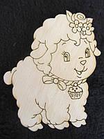 Кокетливая овечка, 10\7, (цена за 1 шт. +3 грн.)