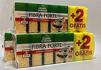 Domi Fibra Forte Губка кухонная 5 + 2 шт в подарок