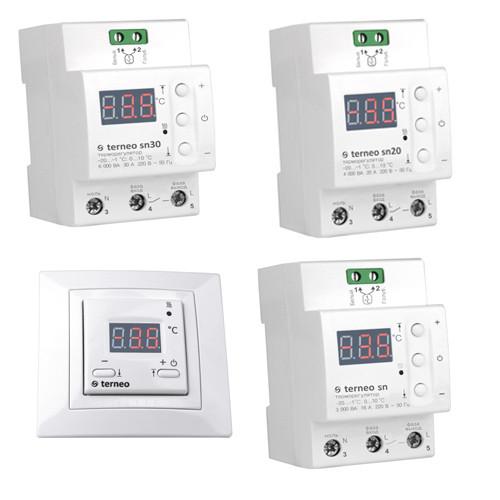 Терморегуляторы для систем снеготаяния