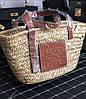 Соломенная женская сумочка LOEWER (реплика)