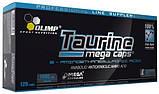 Аминокислота TAURINE MEGA CAPS 120 капсул, фото 2