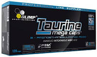Аминокислота TAURINE MEGA CAPS 120 капсул