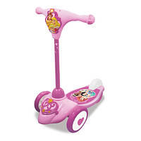 Самокат скутер Kiddieland – Принцесса 3 колеса, свет, звук (045575)