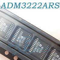 ADM3222ARS, микросхема интерфейса rs-232, SSOP28