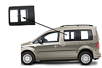 Боковое стекло Volkswagen Caddy 2004-2015 с форточкой левое