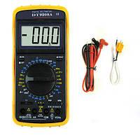 Мультиметр универсальный DT9208A Digital Tech с измерением температуры