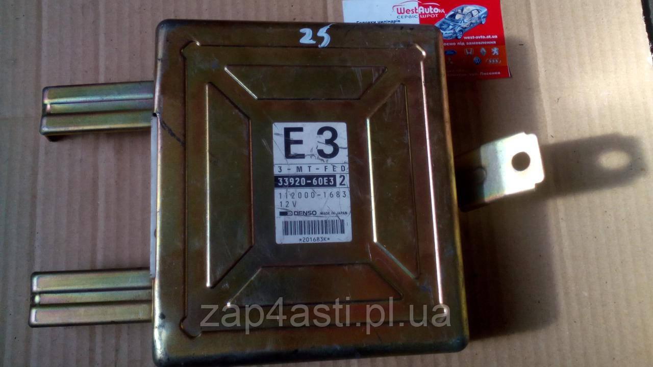 ЭБУ для Suzuki Swift 1.0i 33920060E3  (112000-1683)
