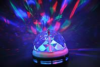 Светодиодная Диско-лампа LED Mini Party MYTH LY-399 E27 (+сетевой адаптер)