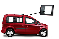 Боковое стекло Volkswagen Caddy 2004-2015 заднее правое