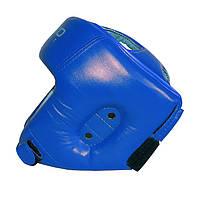 Шолом боксерський закритий №2, Бойко-Спорт, вініл, синій, розмір M