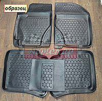 Полиуретановые ковры FIAT LINEA с 2007- / цвет:черный