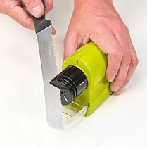 Электрическая точилка Swifty Sharp универсальная для ножей, ножниц, инструментов, фото 2