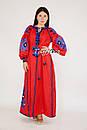 Вышиванка платье лен этно стиль кантри, вишите плаття вишиванка стиль Вита Кин, фото 3
