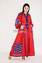 Вышиванка платье лен этно стиль кантри, вишите плаття вишиванка стиль Вита Кин, фото 2