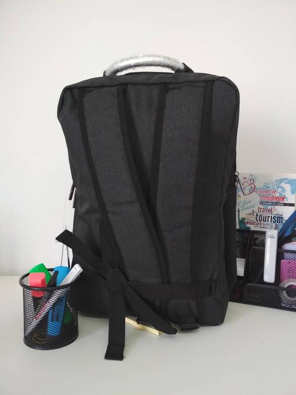 c280412fdbea Черный школьный рюкзак для мальчика подростка 40*30*18 см за 415 грн ...