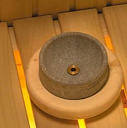 Чаша из стеатита и гибкий трубопровод Harvia Hidden Heater ZHH-220