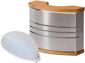 Стальной светильник для сауны Harvia SAS21106