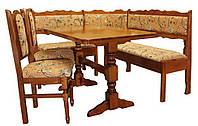 Кухонный уголок Мария-3 (стол + 2 стула или 3 табурет).